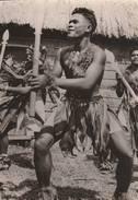 Tonga  - Danses Des Harpons - Scan Recto-verso - Tonga