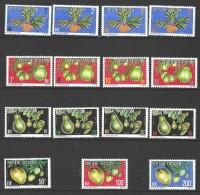 "Polynésie Service Yt 1A à 15A "" Fruits "" 1977 Neuf** - Service"