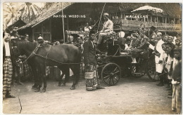 Macassar Real Photo Celebes  Moluques Native Wedding Rich Muslims - Indonesia
