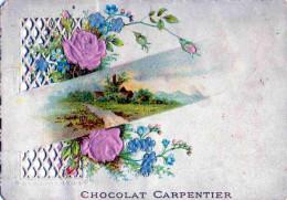 Image Publicitaire Chocolat Carpentier - Chocolat