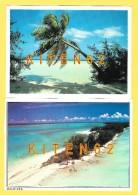 2 Cartes Postales Des Maldives.Jolis Timbres, Bateau, Locomotive, Oiseau - Maldives