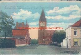 Zicht Op De Kerk En Het Postkantoor Leopoldsburg - Leopoldsburg