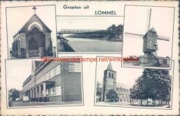1954 Groeten Uit Lommel - Lommel
