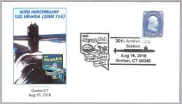 30 Años Submarino USS NEVADA (SSBN 733). Groton CT 2016
