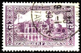 ALGERIE  1936-37  -  Y&T  117 -  Amirauté  1f25 Violet -   Oblitéré - Cote 1e - Algérie (1924-1962)