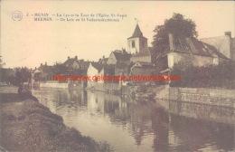 1923 De Leie En St. Vedastuskerktoren Menen - Menen