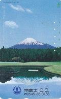 Japan  Telefonkarte -Vulkan *110-127715 * Japan Phonecard - Volcans