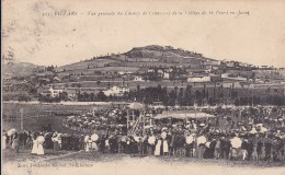 CARTE POSTALE   VILLARS  42  Vue Générale Du Champ De Courses - France