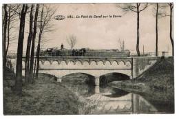 Hal - Le Pont Du Canal Sur La Senne, 1913,  Phototypie Préaux Frères, Ghlin - 2 Scans - Halle