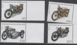 LIECHTENSTEIN ,2016,  MNH,MOTORCYCLES, MOTORBIKES, 4v - Motos