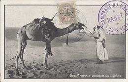 Sud Marocain - Discussion Dans Les Sables - Autres