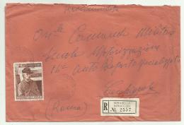 Francobollo Lire 110  Giovanni Fattori   1958  Su Busta - 1946-.. République