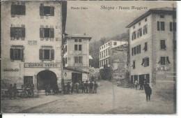 GIL708 - STRIGNO - PIAZZA MAGGIORE - FOR. PICCOLO -  VIAGGIATA 1922 - Autres Villes