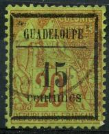 Guadeloupe (1884) N 4 (o) - Oblitérés