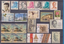 LOT OF USED STAMPS   PAISES  COUNTRIES VARIOS  VARIOUS   S-1745 - Sellos