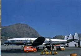 Air France Airlines Lockheed L-1049G Super Constellation L 1049 Aircraft F-BHBB Aviation Aiplane L1049  ESSO - 1946-....: Ere Moderne
