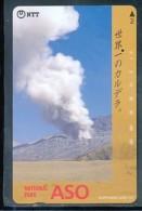 Japan  Telefonkarte -Vulkan *391-227 * Japan Phonecard - Volcans