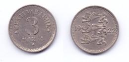 Estonia 3 Marka 1922 - Estonie