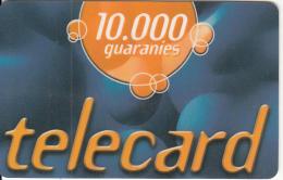 PARAGUAY - Telecel Prepaid Card 10000 Gs(plastic), Exp.date 31/12/03, Used
