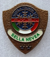 SELLA NEVEA - CHIUSAFORTE SCUOLA ITALIANA SCI A.M.S.I. / SPILLA / JULISCHEN ALPEN / ALPI GIULIE / SKI - Sport Invernali