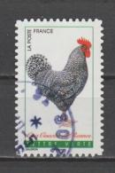 """FRANCE / 2016 / Y&T N° AA 1248 : """"Coqs De France"""" (Coq Coucou De Rennes) - Oblitéré 2016 05. SUPERBE ! - Autoadesivi"""