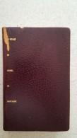 JOURNAL DU VOYAGE DE MICHEL DE MONTAIGNE  LE CLUB FRANCAIS DU LIVRE 1954 N°489 COUVERTURE SKY - Boeken, Tijdschriften, Stripverhalen