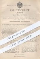 Original Patent - Homer Aloord Everest , Mattapoisett Massachusetts USA , 1905 , Nicht Nachfüllbare Flasche , Flaschen ! - Historische Dokumente