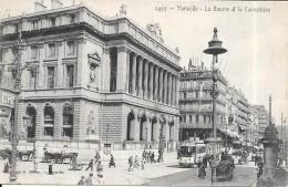 MARSEILLE - 13 -  La Bourse Et La Cannebière - ENCH - - Canebière, Centro