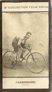 Image Du Cycliste Cassignard Georges De La Collection Felix Potin - Cyclisme