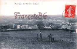 (58) Panorama Des Environs De LUZY - 2 Scans : Recto / Verso - France