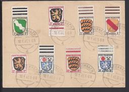 ALLEMAGNE -1946 - Timbres D'occupation Française Type Armoiries Sur Carte Postale De Andernach Vers Miechowicka,Pologne - Zona Francese