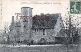 Nièvre (58)  Varennes Les Nevers - Vieille Tour Du Four De Vaux - 2 Scans : Recto / Verso - France