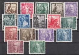 Regno D´Italia - 1938 - Proclamazione Dell´Impero Sass. 439-448 + A111/A116 ** MNH - 1900-44 Vittorio Emanuele III