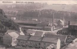 HAIGNEAUX MARCHE-LES-DAMES (1915, Cachet De La 4 KOMPAGNIE II LANDSTURMBATAILLON SAARLOUIS) - Other