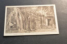 PK436- Photo Nadal Saigon 172- Ruines D Angkor -Ta-Prohm ,Chaprelle Et Galerie  A L'est Sancluaire Central - Cambodge