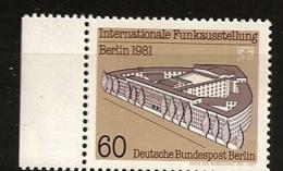 Allemagne Berlin 1981 N° 610 ** Radio, Radiodiffusion, Son, Voix, Maison De La Radio, Architecture, Guerre Froide, URSS - [5] Berlin