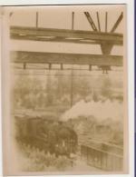 Locomotive - Vieille Photo - Trains
