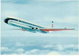 CPSM FRANCE THEMES TRANSPORTS AERONAUTIQUE - Comet 48 De La British European Airways - 1946-....: Moderne