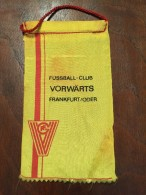 Pennant - Fanion GERMANY FUSSBALL-CLUB VORWARTS FRANKFURT / ODER - Apparel, Souvenirs & Other