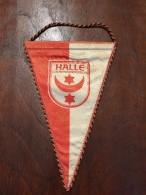 Pennant - Fanion HALLE / Zur Erinnerung SC E HALLE! - Apparel, Souvenirs & Other