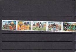 Leshoto Nº 395 Al 399 - Lesotho (1966-...)