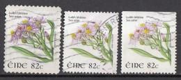 Irlanda 2008-09 Fiori Flowers Sea Aster Tripolium Eire Ireland Used - 1949-... Republic Of Ireland