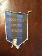 Pennant - Fanion KSI 1963 / KOZPONTI SPORT ISKOLA Budapest! (4) - Apparel, Souvenirs & Other