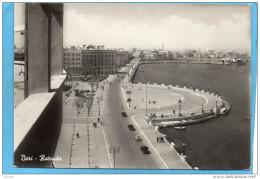 BARI-rotonda--autos-années  50-editio Ditta - Bari