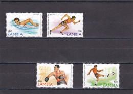 Zambia Nº 213 Al 216 - Zambia (1965-...)