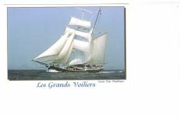 Bateau Voilier Grands Voiliers Swan Fan Makkum Hollande Brick Goélette - Voiliers