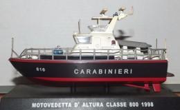 MOTOVEDETTA D'ALTURA CLASSE 800 1998 CARABINIERI - Bateaux
