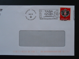 24/08/2016 Expo Taba Naba Australia & Oceania Arts Flamme Monaco Sur Lettre Postmark On Cover - Poststempel