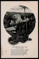 5549 - Alte Ansichtskarte - Burg Schloß Arensburg - Fritz Jungeurt - Châteaux