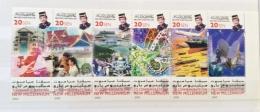 Brunei 2000New Millenium Strip Set  MNH- - Brunei (1984-...)